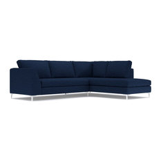 Exceptionnel Apt2B   Mulholland 2 Piece Sectional Sofa, Navy, Chaise On Left   Sectional