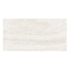 "12""x24"" Avorio Natural-Rectified Field Tiles, Set of 6"