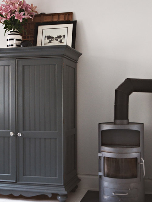 ... Grey Painted Chairs By Gray Painted Furniture Houzz ...