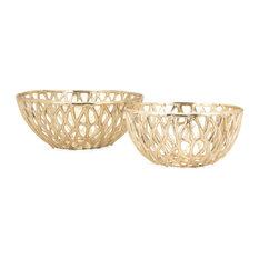 Abbey Bowls, 2-Piece Set