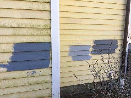 Blue Gray Exterior Help