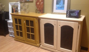 Temperature controlled wine credenzas