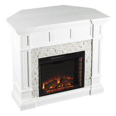 Merrimack Corner Convertible Electric Fireplace