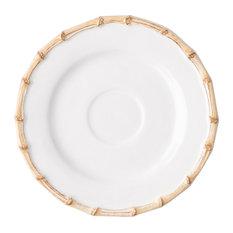 Classic Bamboo Natural Saucer