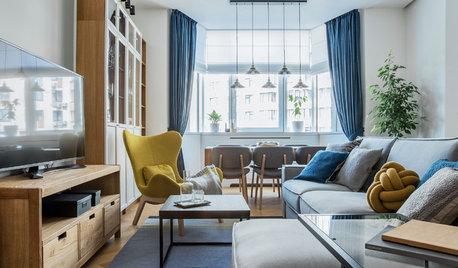 Houzz Украина: Апартаменты в Киеве со скандинавскими мотивами
