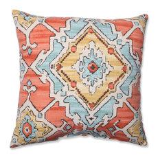 Pillow Perfect Inc - Sundance Throw Pillow, Tangerine - Decorative Pillows