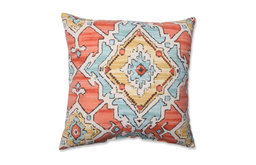 Sundance Throw Pillow, Tangerine