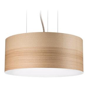 Large Veneli Pendant Light, Natural Ash Veneer