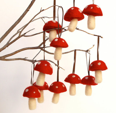 Modern Christmas Ornaments by Etsy