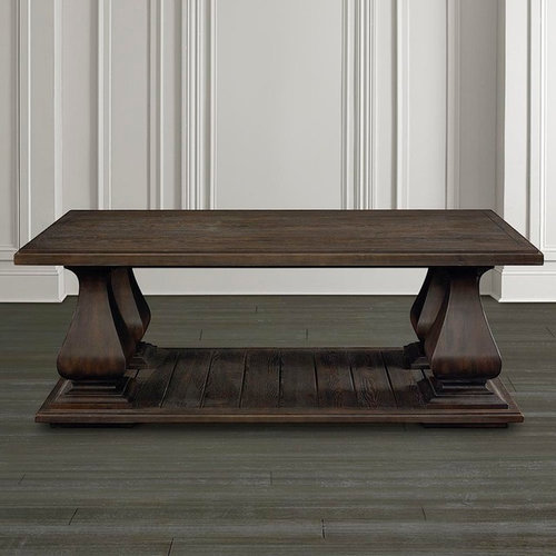 Emporium Rectangular Cocktail Table By Bassett Furniture   Coffee Tables