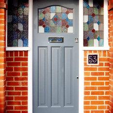 Traditional front doors find upvc front doors composite for 1920s door design