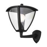 Stanley Constance Outdoor Aluminium Panel Lantern, Black