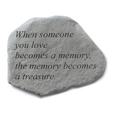 """When Someone You Love Becomes"" Garden Stone"