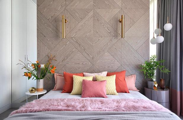 Modern Schlafzimmer Современный Спальня