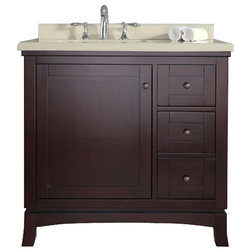 Traditional Bathroom Vanities And Sink Consoles by OVE Decors