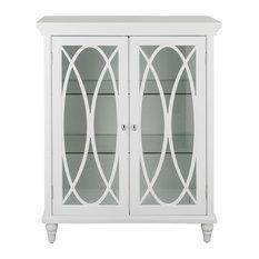 Wooden Bathroom Floor Cabinet Adjust. Shelf