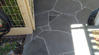 Strathmore bluestone crazy paving