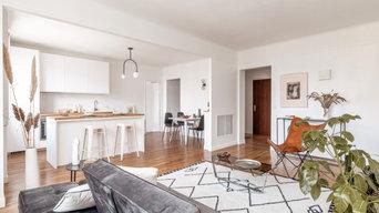 Rénovation d'un appartement de 108 m2 à Courbevoie