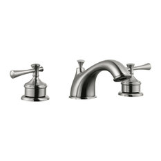 Design House 524587 Ironwood Wide Spread Lavatory Faucet Satin Nickel