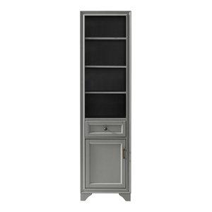 Tara Linen Cabinet, Vintage Gray