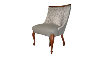 Cottage Style, Script Pint, French/Vintage Style, Decorative Chair