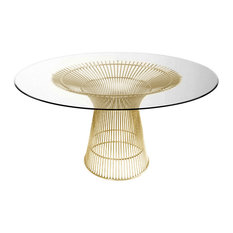 Charmant 50 Most Popular Glass Top Dining Room Tables For 2019 | Houzz