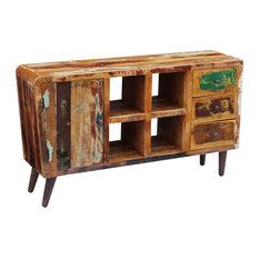 vidaXL Solid Reclaimed Wood Sideboard, 150x40x86 cm