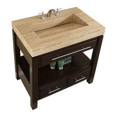 Bathroom Sinks Houzz freestanding bathroom sink stands | houzz