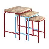 Metropolis Nesting Tables, 3-Piece Set