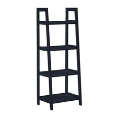 Alba Ladder Bookshelf, Blue, Small