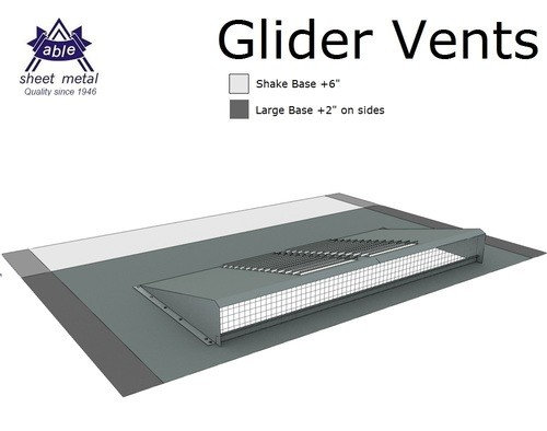 Should I Use Glider Vents Or Dormer Vents To Vent Attic