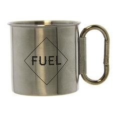 Gift Republic - Carabiner Handle Coffee Mug - Mugs  sc 1 st  Houzz & Trendy Industrial Dinnerware for 2018   Houzz