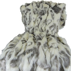 Thomas Collection Faux Fur Small to Extra Large Throw Blanket 16428 60Wx90L