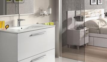 A Modern Master Bathroom