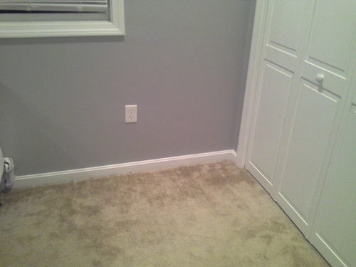 Thinking About A Slightly Darker Gray I D Like To Avoid Beige Blue Or Green Will Too Much Walls Carpet Look Odd Sample Squares From