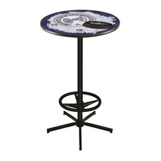 Columbus Blue Jackets Pub Table 28-inch
