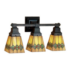 stained glass bathroom light fixtures stained glass lighting fixture bathroom vanity lights houzz 24260