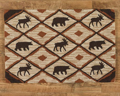 Primitive Country Style Rugs Products