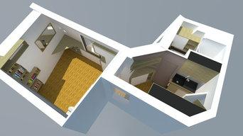 Rénovation appartement parisien de 18m²