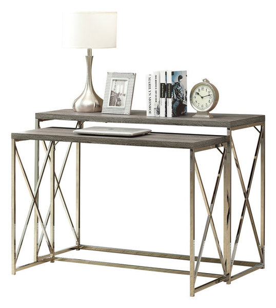 Tilly 2-Piece Console Table Set - Contemporary - Console Tables - by ...