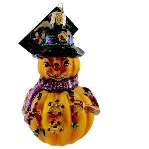 Jack O Lantern Ornament Glass Mr Jack O Lantern Old World Christmas 26034 22