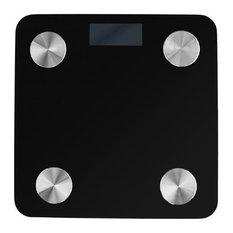 Koolulu - Advanced Fitness Scale, Black - Bathroom Scales