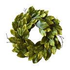 "Southern Magnolia Wreath 24"""