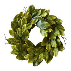 """Mills Floral Company - Southern Magnolia Wreath 24"""" - Wreaths and Garlands"""