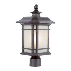 """San Miguel 13.5"""" Postmount Lantern"""
