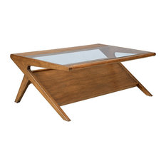 Olliix - Ink+Ivy Rocket Coffee Table with Magazine Tray - Coffee Tables
