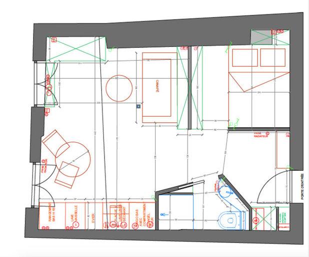 Aménager un petit espace : 3 mini deux-pièces sous les toits