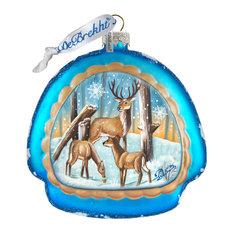 Deer Love Ornament