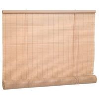 ACE Trading-Lewis Hyman 2 3'x6' Blind Roll-Up, Wood Grain