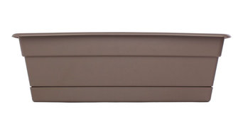 Bloem Dura Cotta Window Box, Curated, 18""